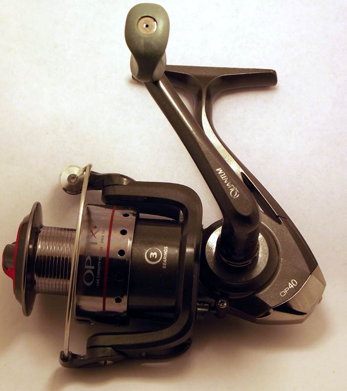 Quantum Optix 40 3 Bearing Spinning Reel Op40fc Reconditioned Or Factory Second